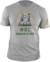 Adidas WBC T-Shirt Grijs-M