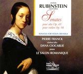 Franck/Ciocarlie/La Salon Romanique - Sonates P/Alto Op.49 P/Violon Op.98
