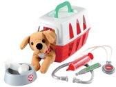 Ecoiffier speelgoed hond in reismand