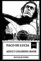 Paco de Lucia Adult Coloring Book