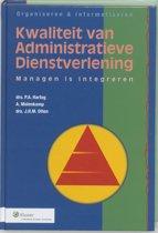 Organiseren & informatiseren 1 - Kwaliteit van administratieve dienstverlening