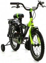 Popal Fun Jet - Kinderfiets - 16 Inch - Jongens - Groen/Zwart