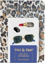 This & That Notebooks (Set of 3) by Kate Schelter
