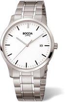 Boccia Titanium 3595-02 Horloge - Titanium - Zilverkleurig - 39 mm