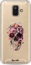 Casetastic Softcover Samsung Galaxy A6 (2018) - Transparent Skull