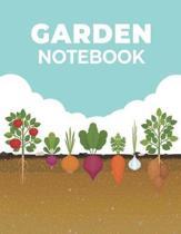 Garden Log Notebook