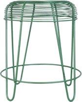Clayre & Eef Kruk Ø 40x46 cm groen ijzer metaal