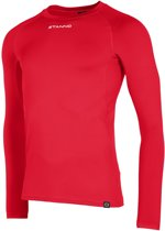 Stanno Functional Sports Thermo  Sportshirt performance - Maat 164  - Unisex - rood