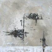 Schilderij 'Adventure' 100x100cm