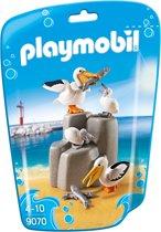 Playmobil Family Fun: Pelikaanfamilie (9070)