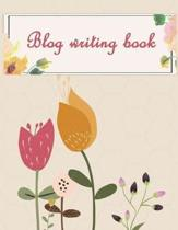 Blog Writing Book