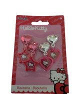 Clip oorbellen Hello Kitty