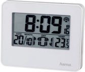 Hama Radio gestuurde wekker RC650 met LED licht wit
