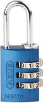 ABUS combinatie-cijferslot Serie 145, aluminium, beugel 20 mm