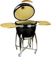 EliteGrill 60 Black BBQ met regenhoes - Barbeque - Kamado