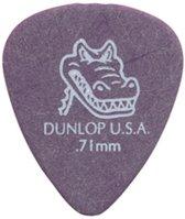 plektrums Gator Grip, 0,71 mm 12er Set, rosa
