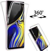 Hoesje MG voor Samsung Galaxy Note 9 - 360 Graden Cover / Volledig Bescherming 2 in 1 - Transparant