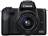 Canon M50 + EF-M 15-45mm + EF-M 22mm / Zwart