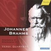 Brahms, Johannes: String Sextet Op.18/string Quintet
