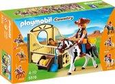 Playmobil Tinker met paardenbox - 5516