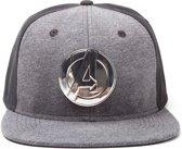 Marvel - snapback met metalen Avengers Logo