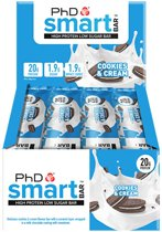 PhD - Smart Bar - Cookies & Cream (12x64g)