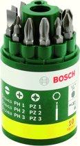 Bosch set schroefbits - 10-delig