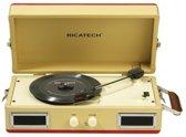 Ricatech Home entertainment - Platenspelers RTT33 - Beige/Rood