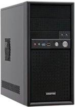 Chieftec CD-01B-U3-OP computerbehuizing Mini-Toren Zwart