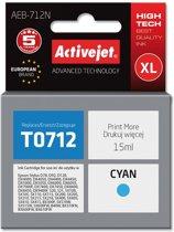 ActiveJet AEB-712N inktcartridge Compatible Cyaan 1 stuk(s)