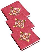 Notitieboek Rood met Steentjes – Medium