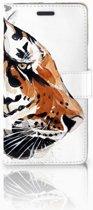 Samsung Galaxy Note 5 Flipcase Watercolor Tiger