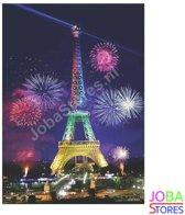 "Diamond Painting ""JobaStores®"" Eiffeltoren - volledig - 40x50cm"