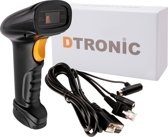 DTRONIC RS-232 barcode scanner - handheld incl. adapter