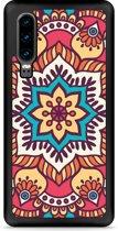 Huawei P30 Hardcase hoesje Mandala Hippie