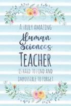 A Truly Amazing Human Sciences Teacher Is Hard to Find and Impossible to Forget