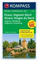 Kompass WK2220 Elzas/Vogezen Noord