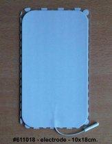 Elektroden 10x18cm p1st voor TENS Spierstimulatie en EMG