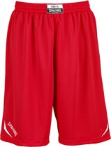 Spalding Attack Basketbalbroek - Maat L  - Mannen - rood/wit