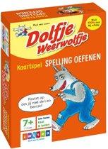 Boekomslag van 'Dolfje Weerwolfje - Kaartspel Spelling oefenen'