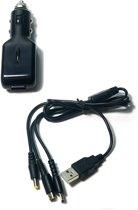ORB Universal Usb Car Adaptor Zwart 3DS + DSi + DS Lite + PSP