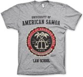 AMERICAN SAMOA - T-Shirt Law School - H.Grey (S)
