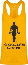 SLOGAN PREMIUM STRINGER VEST  GOLD - S