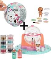 L.O.L. Surprise DIY Glitter Factory + LOL Surprise ball Winter Disco