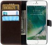 Apple iPhone 6(S) Portemonnee Hoesje Coffee