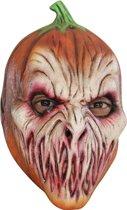 Angstaanjagend pompoenmasker voor volwassenen Halloween - Verkleedmasker - One size