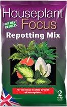 Houseplant Focus Repotting Mix - 2 liter potgrond voor behoud van gezonde kamerplanten