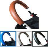 Luxe Buggy handvat hoes | Kinderwagen | 53x11 cm | Blauw