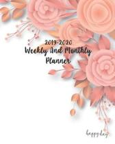 2019-2020 Weekly and Monthly Planner