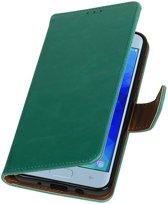 Samsung Galaxy J3 2018 Groen | Premium bookstyle / book case/ wallet case  | WN™